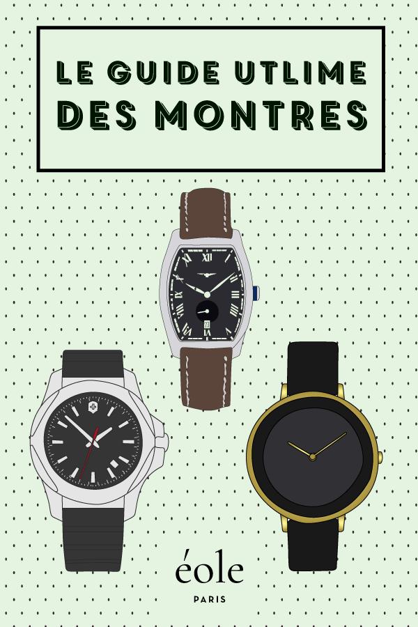 Le guide ultime des montres - EOLE PARIS P