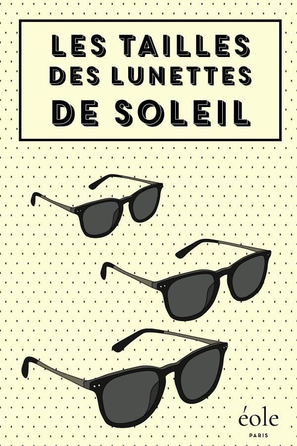 Les tailles de lunettes - EOLE PARIS
