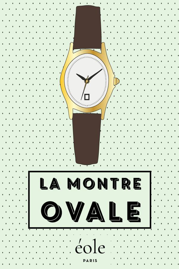 La montre ovale - EOLE PARIS P