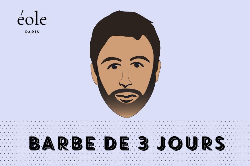 Barbe De 3 Jours - EOLE PARIS