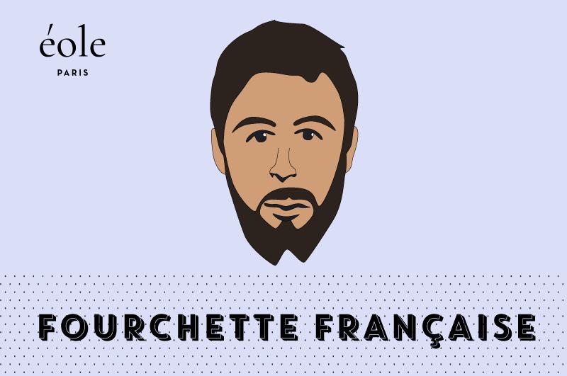 Barbe fourchette française - EOLE PARIS