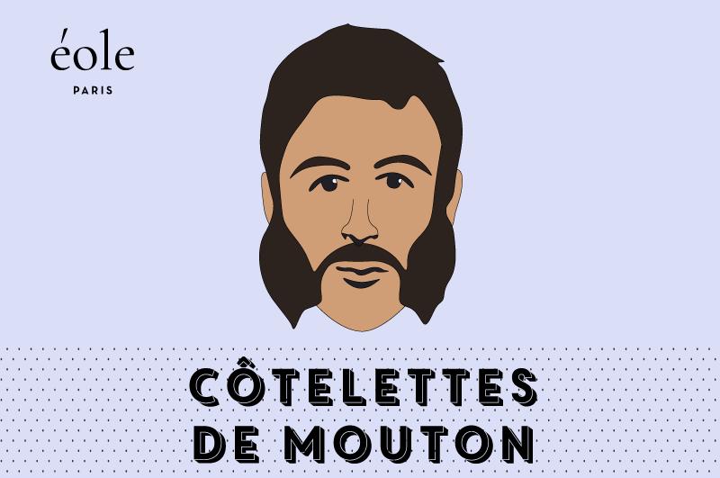 Barbe Côtelettes De Mouton - ÉOLE PARIS