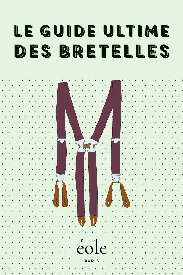 Le guide ultime des bretelles - EOLE PARIS