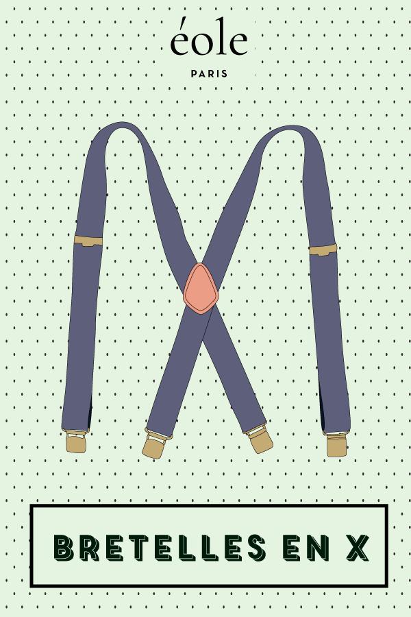 Les bretelles en X - EOLE PARIS
