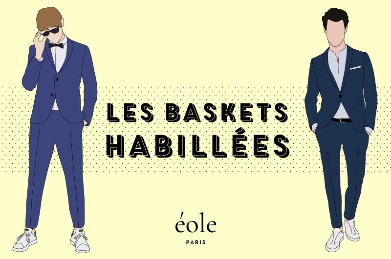 Baskets habillées Homme - EOLE PARIS