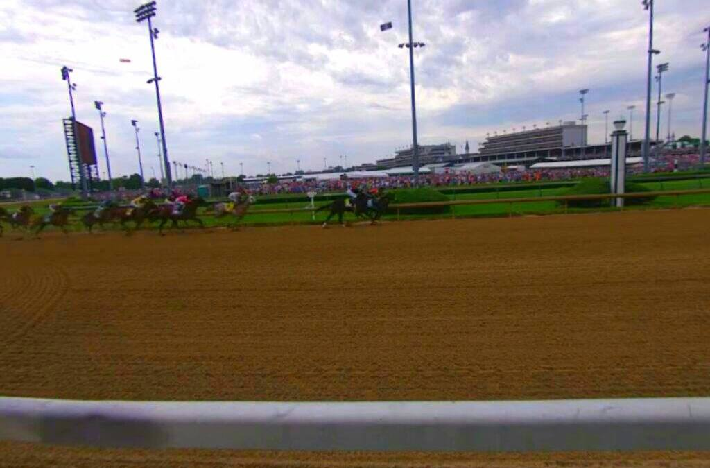 Kentucky Derby Broadcast Live in Virtual Reality