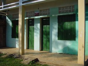 先生の宿舎