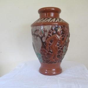 Tribal ceramic vase