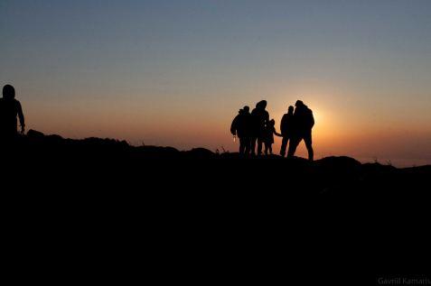 Ηλιοβασίλεμα στην κορυφή Βοδιάς