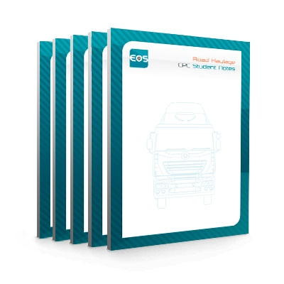 Road Haulage CPC Student Notes (box of 5)