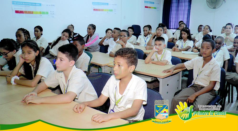 Campaña 'Pilas con el Ambiente' se toma los colegios de la ciudad (1)