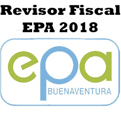 AVISO CONVOCATORIA PARA LA PRESTACIÓN DE SERVICIOS PROFESIONALES DE REVISOR FISCAL PARA EL EPA 2018