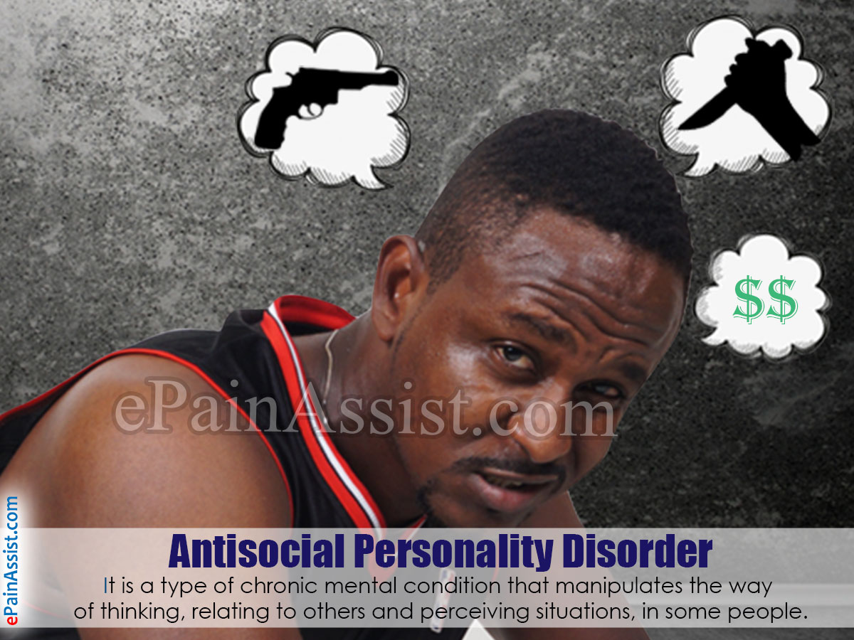 Antisocial Personality Disorder Definition Symptoms Causes
