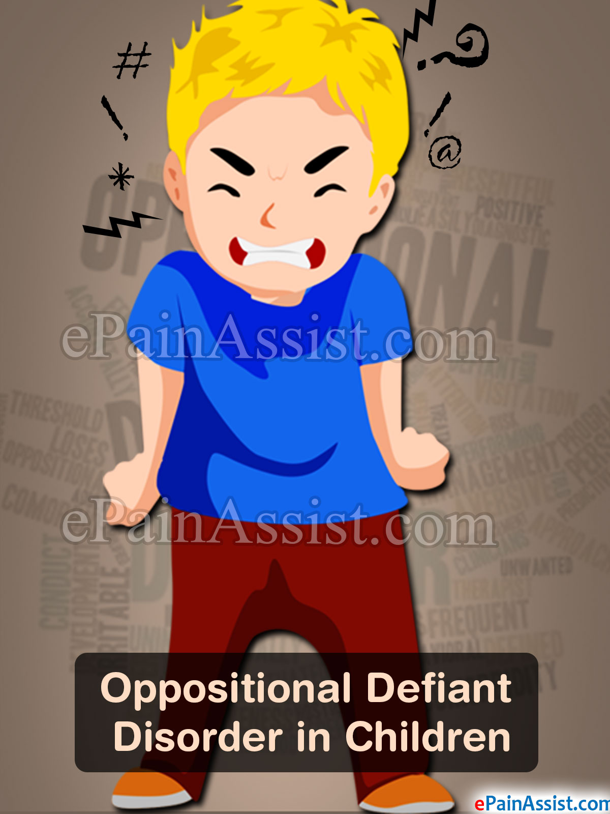Oppositional Defiant Disorder Cartoon