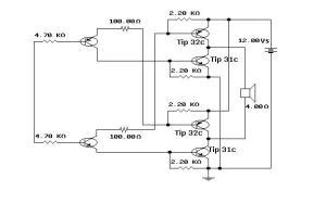 Car alarm circuit