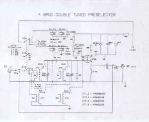 4 Band Double Tuned Preselector