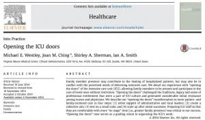 Screen capture of article top
