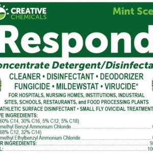 RESPOND 1:32 DISINFECTANT CLEANER