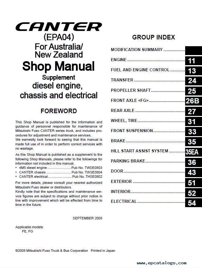mitsubishi canter workshop manual 2015 ebook rh mitsubishi canter workshop manual 2015 ebook Mitsubishi Montero Engine Manual Mitsubishi Eclipse Manual