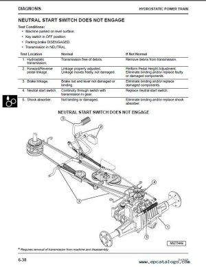 John Deere GT242GT262GT275 Lawn & Garden Tractors