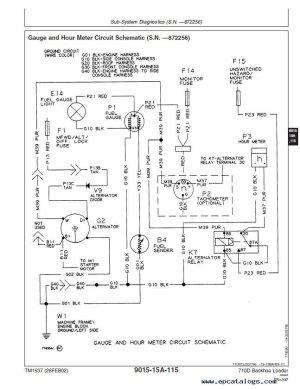 John Deere 710D Backhoe Loader Operation and Test Manual