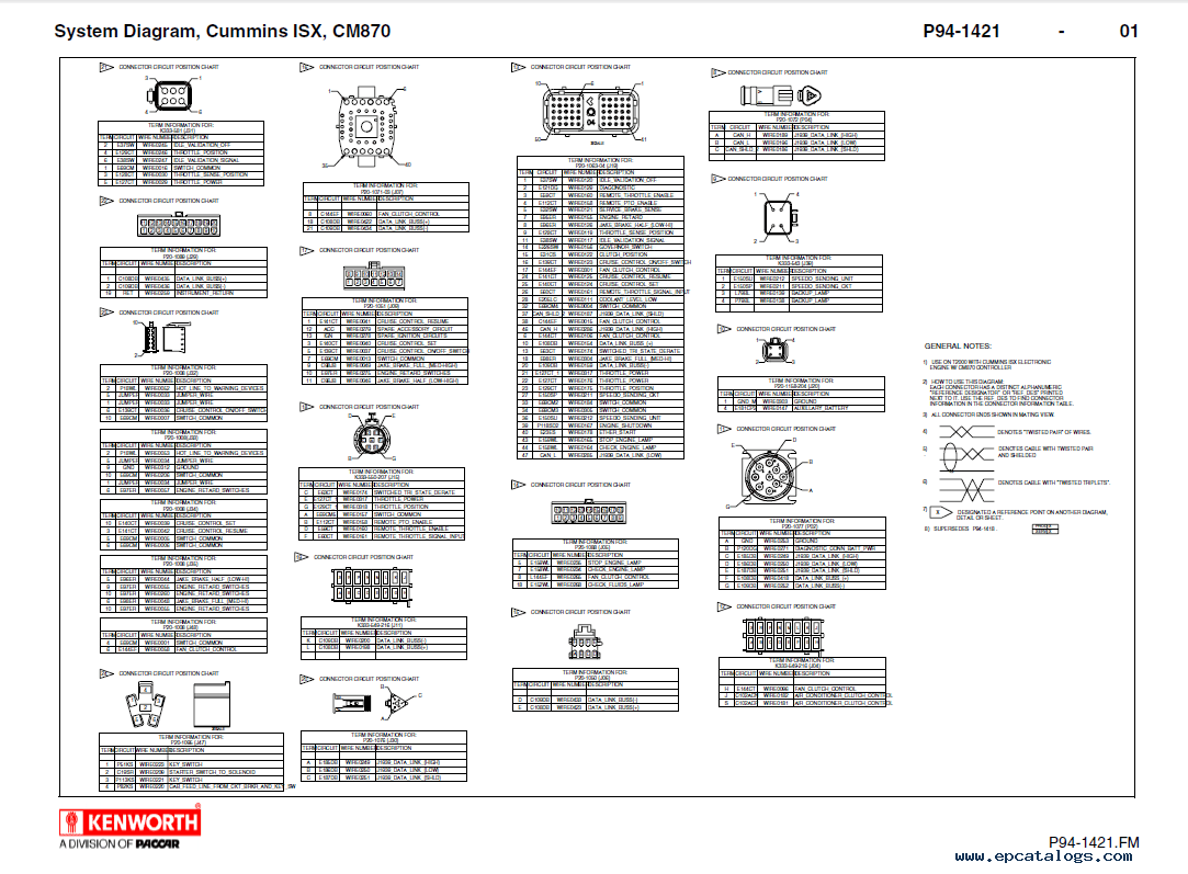 Kenworth T Electrical Wiring Diagram Manual
