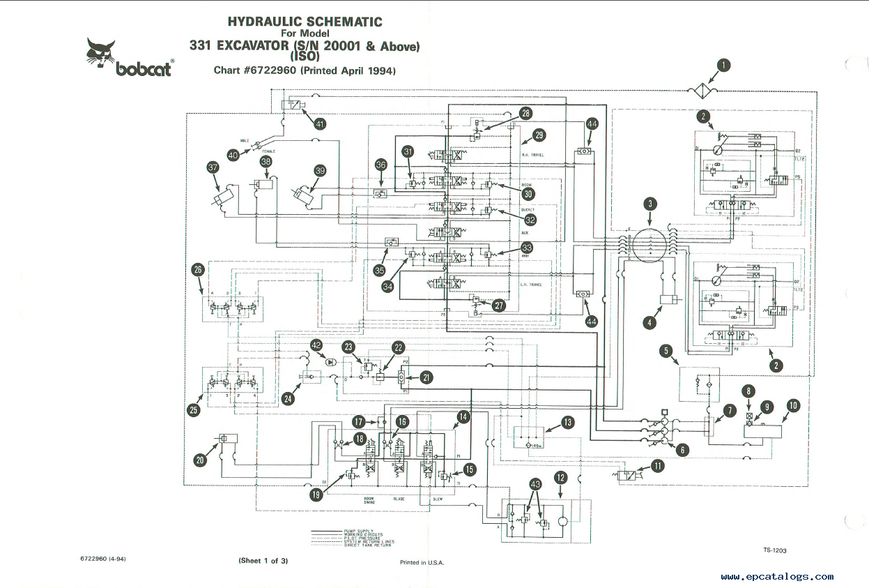 New Holland Lw170b Hydraulic Schematics