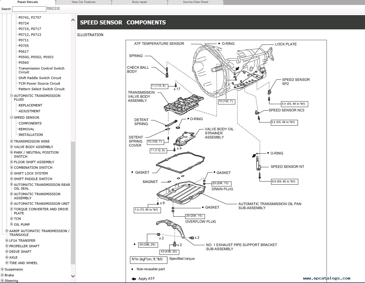 Toyota Avalon Radio Diagram Html