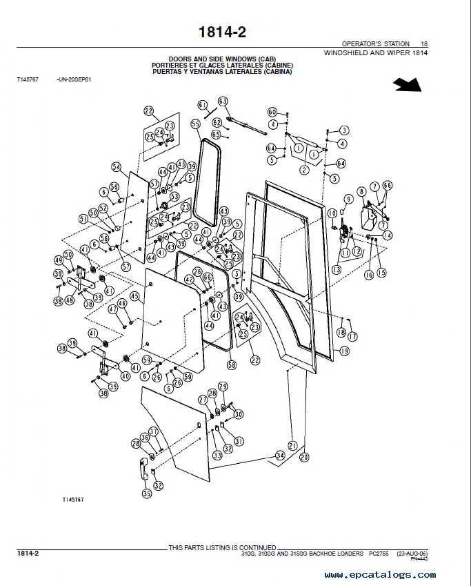 John Deere 310G 310SG 315SG Backhoe Loader Parts Manual PDF PC2755?resize=665%2C827&ssl=1 410g john deere ignition wiring diagram john deere pto switch Caterpillar Backhoe Parts Diagram at virtualis.co