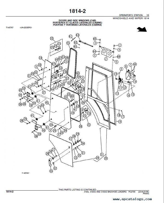 John Deere 310G 310SG 315SG Backhoe Loader Parts Manual PDF PC2755?resize=665%2C827&ssl=1 john deere 310 parts the best deer 2017 john deere 310sg wiring diagram at soozxer.org