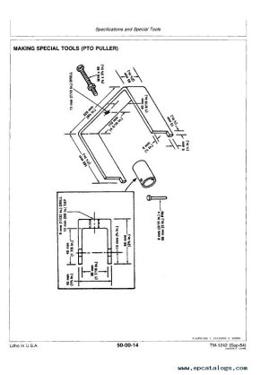 John Deere 650 & 750 Tractors Technical Manual PDF