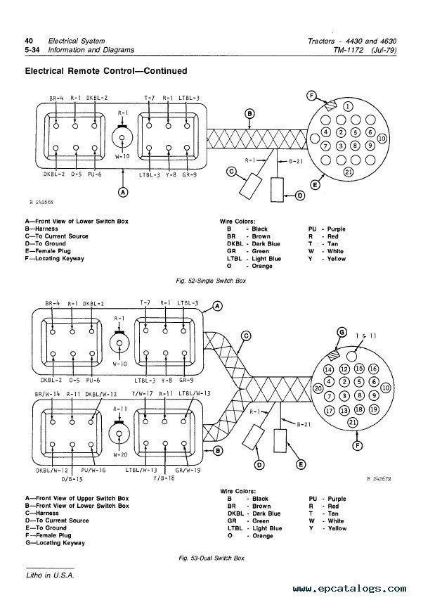 John Deere Model A Wiring Diagram - Roslonek.net