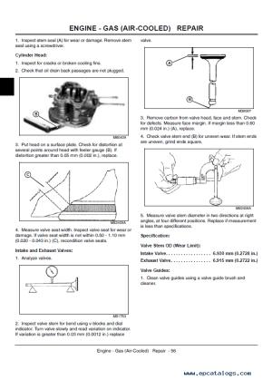John Deere Gator Utility Vehicles 4x2 and 4x6 Technical Manual
