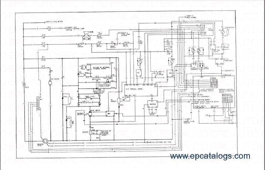 Nissan Forklift Wiring Diagrams On Nissan Download Wirning Diagrams