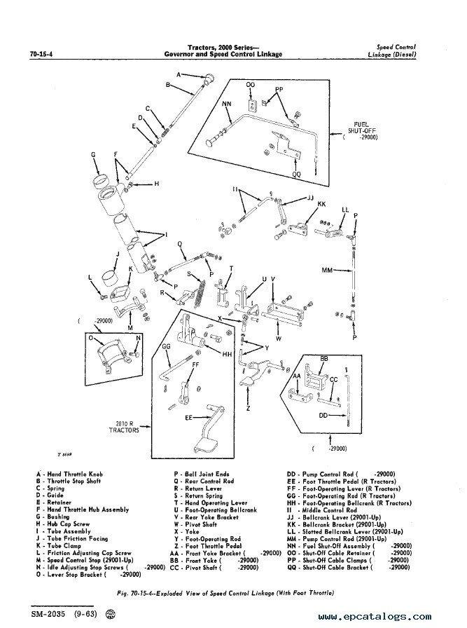 John Deere 302 Parts Manual