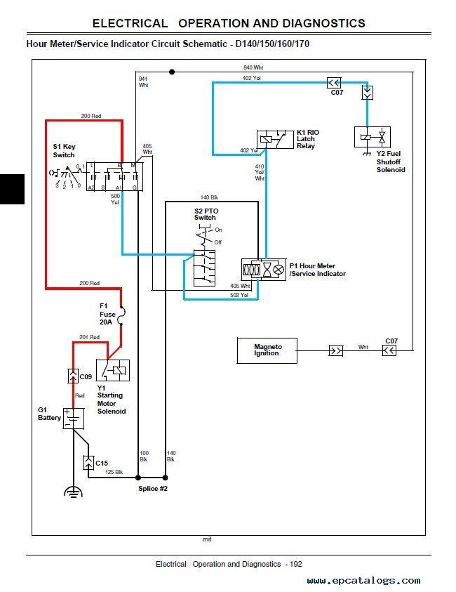 diagram john deere d140 wiring diagram full version hd