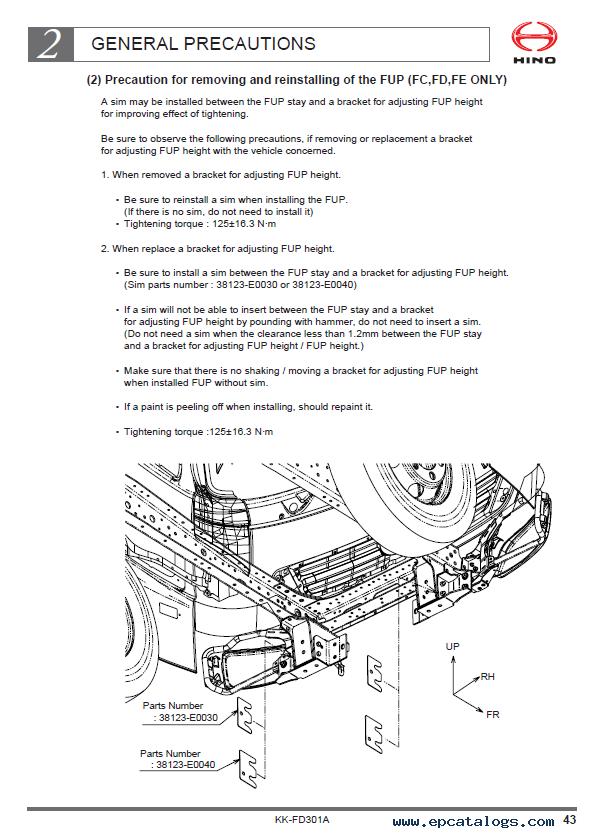 hino 500 series truck chassis fd7j body mounting manual pdf?resize=605%2C838&ssl=1 hino trucks zf transmission wiring diagram hino truck radio Ford Radio Wiring Diagram at creativeand.co