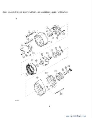 Case 580K Model B Backhoe & Loader & Tractor PDF