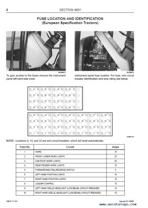 McCormick MTX Series Tractors Repair Manual PDF
