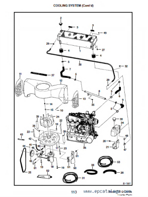 Bobcat 751 GSeries Skid Steer Loader Parts Manual PDF