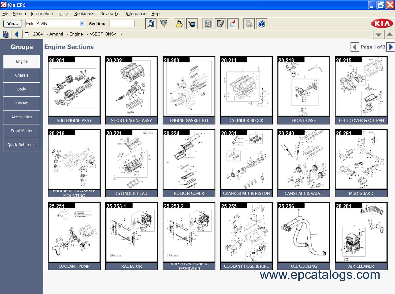 Kia Rio Spare Parts Catalogue | Reviewmotors.co