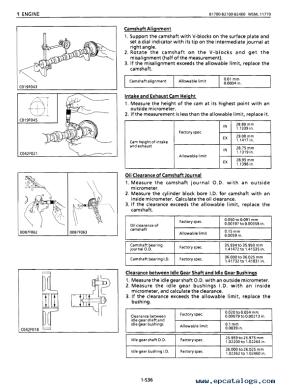 Kubota B1700 B2100 B2400 Tractor Workshop Manual PDF