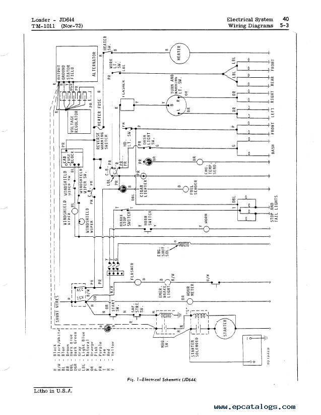 Diagram John Deere 70 Wiring File Vb74981