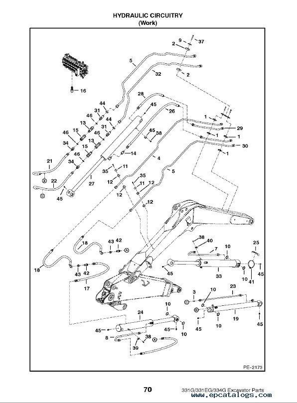 Bobcat S130 Spare Parts Catalog