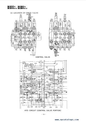 Kobelco SK60220 Mark V Hydraulic Excavators PDF Manual