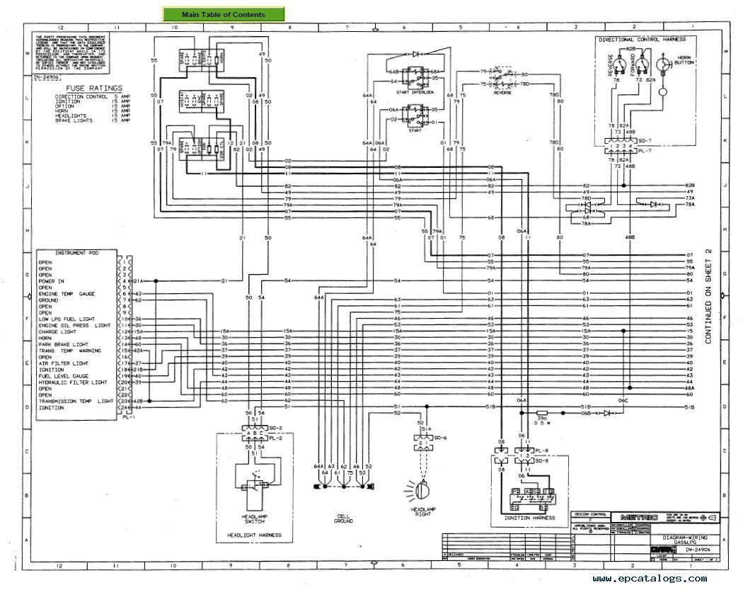 Clark Gcx30e Wiring Diagram