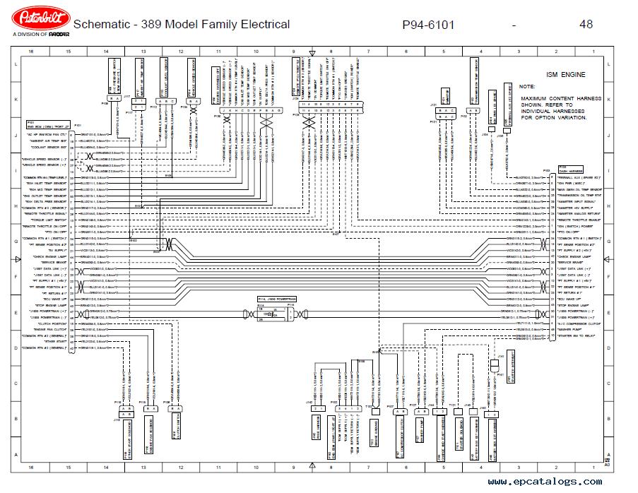 Wonderful Peterbilt 389 Fuse Box Diagram Contemporary - Best Image ...