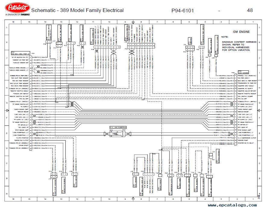 Awesome Peterbilt Wiring Schematic Collection - Electrical Diagram ...