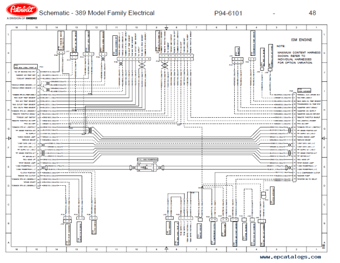 Astounding Peterbilt 389 Wiring Diagram Resistor Contemporary ...