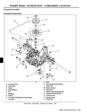 John Deere L100 L110 L120 L130 Lawn Tractors Repair Manual PDF